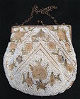 TAMBOUR EMBROIDERED PURSE