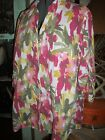 Plus Size 2X 3X lightweight great colors blouse  button back sleeves