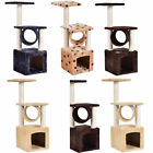 Deluxe 36 Cat Tree Condo Furniture Play Toy Scratch Post Kitten Pet House