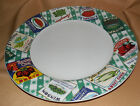 Vegetable Labels COUNTRY CUPBOARD Omnibus Fitz And Floyd DINNER PLATE