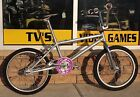 1990's Mongoose Solution Silver BMX Bike Bicycle Pre-owned Free Shipping