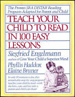 Teach Your Child to Read in 100 Easy Lessons Siegfried Engelmann Phyllis Hadd