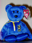 Ty Beanie Baby ~ POMPEY the Bear (UK Exclusive)(8.5 Inch) MWMT