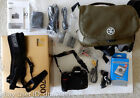 Nikon D700 FX DSLR Digital Camera bag remote shutter memory card and accessories