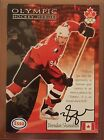 1998 Esso Brendan Shanahan Olympic certified autograph. Incredibly rare auto