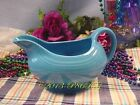 Fiesta® PEACOCK Post 86 Sauceboat / Gravy Boat - Discontinued Color