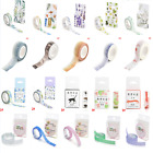 05m 10m DIY Charm Washi Tape Paper Adhesive Scrapbooking Sticky Craft Decor New