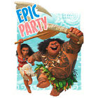 MOANA INVITATIONS 8 Birthday Party Supplies Stationery Cards Notes Disney