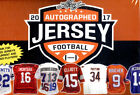 2017 Leaf Autographed Football Jersey Limited Edition Football Box