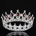 Vintage Wedding Bridal Crystal Baroque Queen Crown Tiara Headbands Jewelry Gold