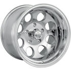 15x10 Polished Alloy Ion Style 171 5x55 38 Wheels LT33X125R15 Tires