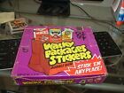 1973 Topps Gum Co Wacky Packages 1st Series Sticker Purple Display Box RARE!
