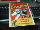 1982 Topps Wacky Packages Cereal Box Panel Beastball RARE!