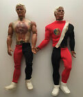 VTG Pulsar Ultimate Man Of Action Figure Doll Mattel 1976 Lot of 2 Parts AS IS