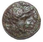 LOT#269 IONIA, Kolophon. 360-330 BC (Apollo & Lyre ) Ancient Greek Coin