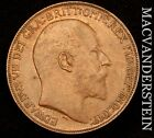 GREAT BRITAIN: 1908 ONE PENNY - SCARCE!!  HIGH GRADE!!  #U4672