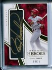 Barry Larkin 2016 Panini Immaculate Heroes Gold Ink AUTO Autograph #4 15 REDS