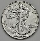 1946-p Walking Liberty Half.  Error. Planchet Flaw or Die Chip by T.  HG. 113380