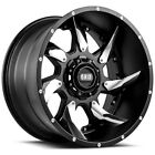4 Grid OffRoad GD01 18x9 Blank Drilled to Order +15mm Matte Black Wheels Rims