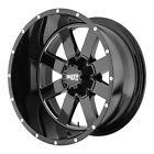 Moto Metal MO962 17x10 5x5 5x55 24mm Black Milled Wheel Rim