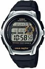 Casio Digital Atomic Waveceptor Watch, 50 Meter WR, Resin, Chronograph,WV-M60-9A