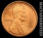1909 VDB LINCOLN WHEAT CENT- LUSTROUS !! CHOICE BRILLIANT UNCIRCULATED !! #U4988