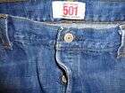 VTG 80S LEVIS 501 BUTTON FLY JEANS 40X30 FADED THICK DENIM