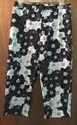 Ladies Vintage Blue Capris Size 10  30X19