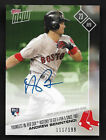 2017 Topps NOW 77A ANDREW BENINTENDI AUTO Autographed Rookie RC Red Sox 111 199