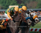 Silver Charm 1997 Preakness Stakes Tight Finish Photo 8 x 10 24 x 30