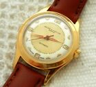 VINTAGE BAUME &  MERCIER 2 TONED TEXTURED DIAL 31.6MM GOLD PLATED CASE AUTOMATIC