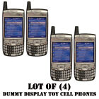 Lot of 4 NEW Verizon Palm 700w 700wx Treo Dummy Display Kids Toy Cell Phones