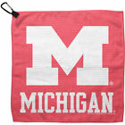 Michigan Wolverines WinCraft 13 x 13 Pastel Waffle Golf Towel Pink NCAA