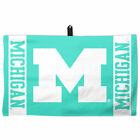 Michigan Wolverines WinCraft 14 x 24 Pastel Waffle Golf Towel Green NCAA