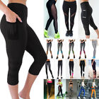 US Womens Sports YOGA Gym Fitness Leggings Pants Jumpsuit Athletic Apparel S928