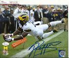 Jabrill Peppers Signed 8x10 Photo 1 JSA Witnessed Michigan Wolverines
