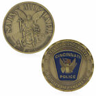 Saint Michael Police Cincinnati Commemorative Challenge Coin Souvenir Collection