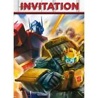 TRANSFORMERS Cartoon INVITATIONS 8 Birthday Party Supplies Stationery Cards
