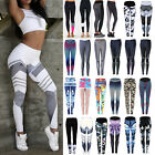 Womens Workout Leggings Yoga Gym Joggers Running Fitness Sports Pants Trousers