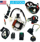 50cc 125cc CDI Wire Harness Stator Assembly Wiring Kit Chinese ATV Electric Quad