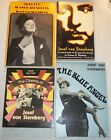 JOSEF VON STERNBERG BOOK LOT GERMAN FILM DIRECTOR BLUE ANGEL MARLENE DIETRICH