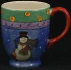 Sango Sweet Shoppe Christmas Mug GREEN BORDER