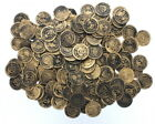 144 Gold Pirate Coins Treasure Chest Booty Doubloon Play Money Party Favor