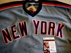 GARY CARTER Signed New York Mets Baseball Jersey -JSA Authenticated #S32718