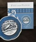 FITZ & FLOYD 2016 Merry Christmas Country French Horse Barn Collector Plate NIB