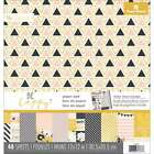Paper House Double Sided Paper Pad 12X12 48 Pkg Be Happy 767636817678