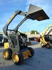 2006 NEW HOLLAND LS 160 SKID WHEEL LOADER NEW WHEELS AND TIRES GOOD HOURS