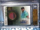 2014 SP Game Used Tiger Woods Auto BGS 9.5 10 Inked Fabrics Tourny Used # 65 LC