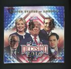 2016 Decision Sealed Unopened Hobby Box w 24 Packs Donald Trump Hillary Clinton