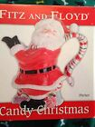 Fitz & Floyd Candy Christmas Pitcher (9